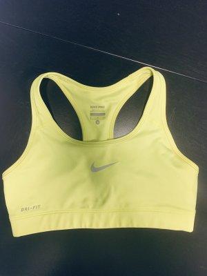 Nike Sportbh neongrün NEU XS