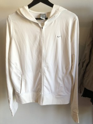 Nike Sporthoodie Weiß