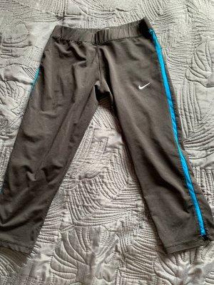 Nike Pantalone da ginnastica nero-blu neon
