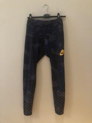 Nike Sporthose dunkelblaues Camouflage