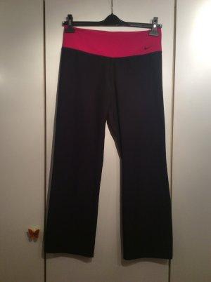 Nike Pantalone da ginnastica nero-rosa