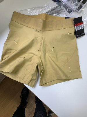 Nike Sport Shorts gold-colored