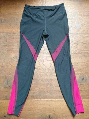 Nike Sporthose, Gr. L, Dry Fit, Schwarz-Pink. NP 69€