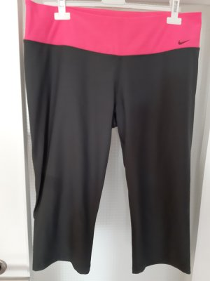 Nike Spodnie sportowe szary-różowy Poliester