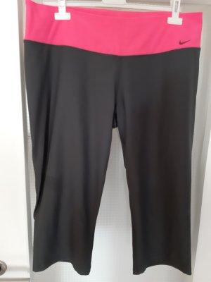 Nike Pantalon de sport gris-rose polyester