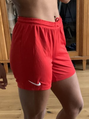 Nike Sporthose kurz rot xs