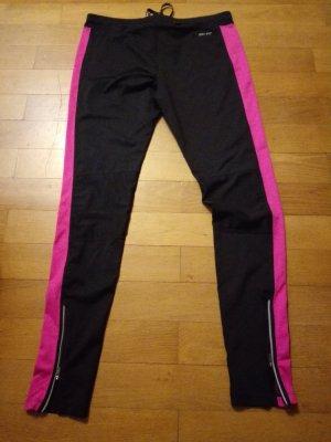 Nike Sportbroek zwart-roze