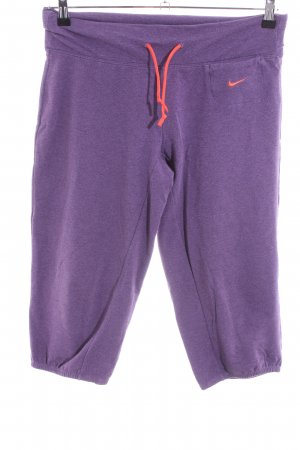 Nike Sporthose lila-hellorange Casual-Look