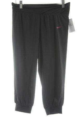 Nike Sporthose schwarz-magenta sportlicher Stil