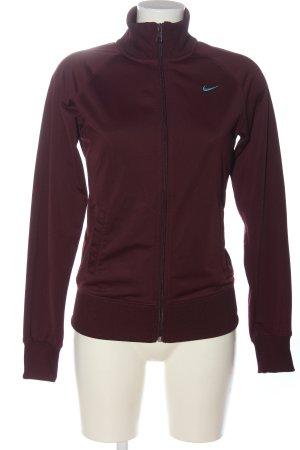 Nike Sportjacke braun Casual-Look
