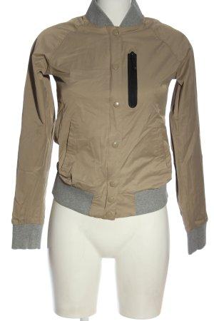 Nike Sports Jacket brown-light grey casual look