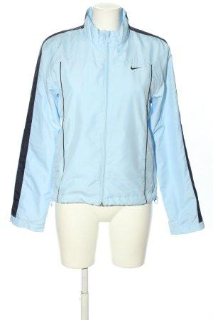 Nike Sportjacke blau-schwarz Casual-Look
