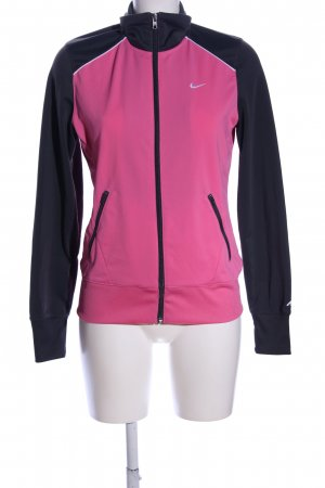 Nike Sportjacke Motivdruck Casual-Look
