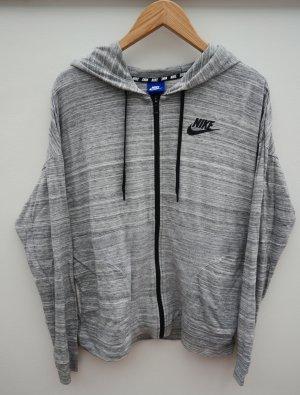 Nike Sportjacke, Grau meliert, Gr. M
