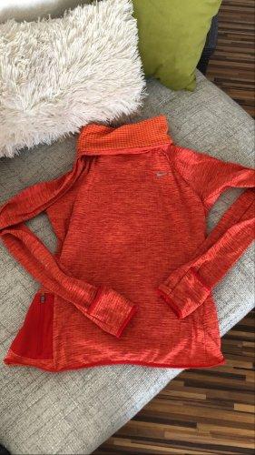 Nike Turtleneck Sweater neon orange