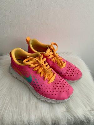 Nike Sportschuhe in pink neon
