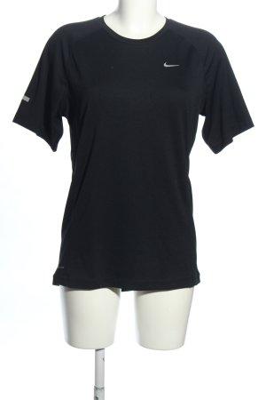 Nike Sportshirt schwarz sportlicher Stil