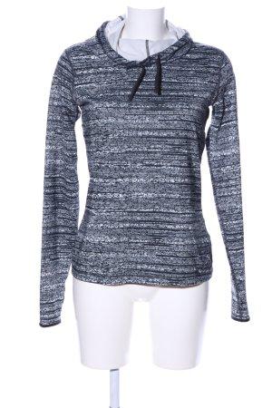 Nike Sportshirt schwarz-weiß Allover-Druck Casual-Look