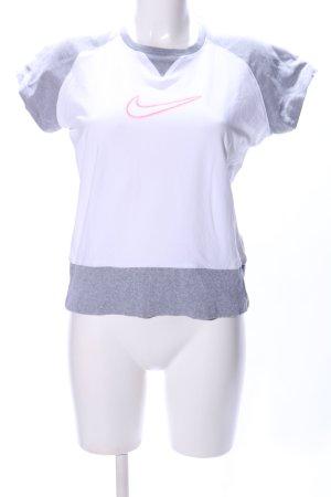 Nike Sportshirt gestippeld atletische stijl