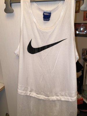 Nike Camisa de tirantes para hombres blanco