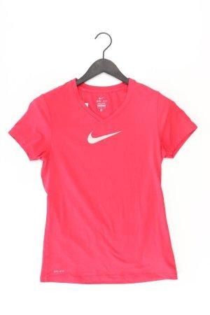 Nike Sportshirt Größe M Kurzarm rot aus Polyester