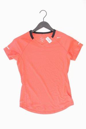 Nike Sportshirt Größe S Kurzarm rot aus Polyester
