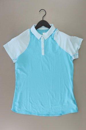 Nike Sportshirt Größe XL Kurzarm blau aus Polyester