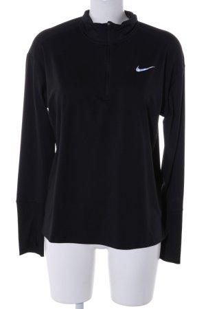 Nike Sportshirt zwart atletische stijl
