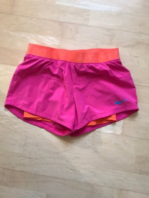 Nike Pantalon de sport rose-orange