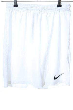Nike Sportshorts weiß sportlicher Stil