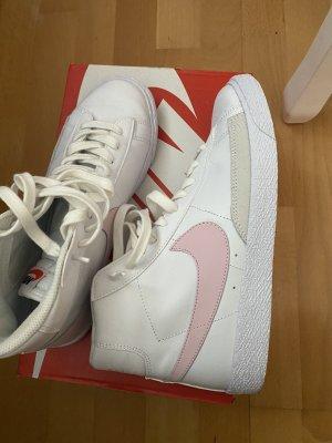 Nike Sportswear Blazer MID '77 Sneaker high white/pink