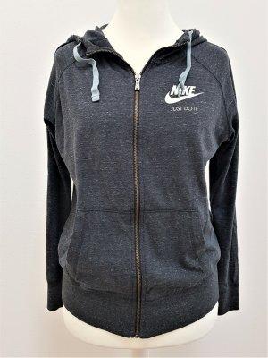 Nike Sportswear Gym Vintage Hoodie in Grau