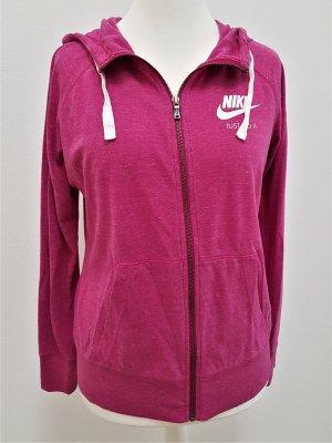 Nike Sportswear Gym Vintage Hoodie in Pink