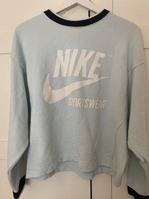 Nike Oversized Sweater pale blue