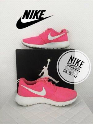 Nike sportswear roshe run pink sneaker schuhe 36 Turnschuhe blogger vintage boho gym Fitness