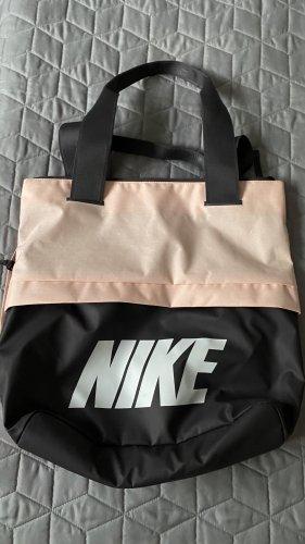 Nike Sac de sport noir-rose clair