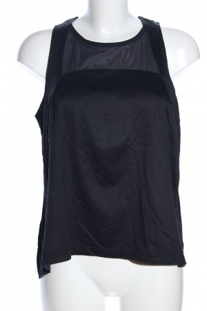Nike Canotta sportiva nero stile casual