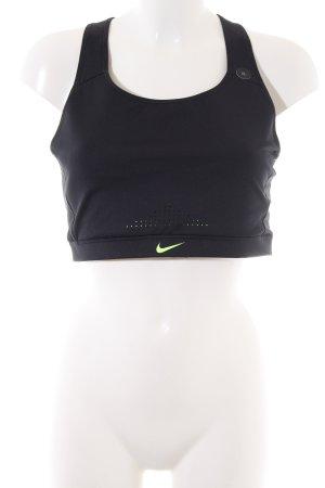 Nike Sporttop schwarz sportlicher Stil