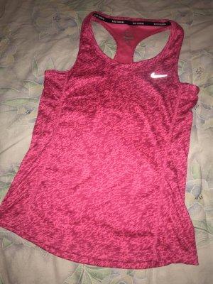 Nike Top estilo halter magenta