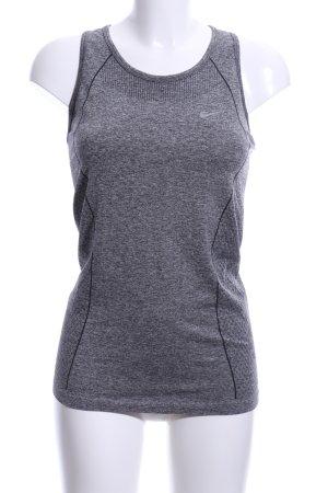 Nike Sporttop grau-dunkelgrau sportlicher Stil