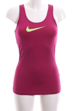 Nike Sporttop, lila, Gr. S