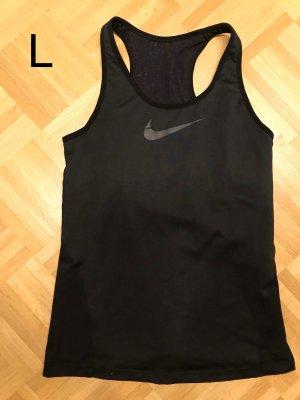 Nike Sporttop mit integriertem Sport-BH Größe L