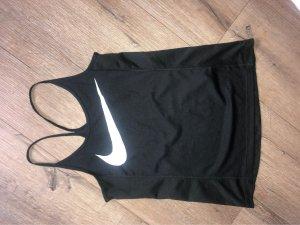 Nike Maglietta sport nero-bianco