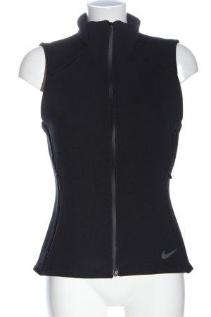 Nike Sportweste schwarz Motivdruck Casual-Look