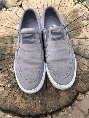 Nike Zapatos de patinador gris-blanco