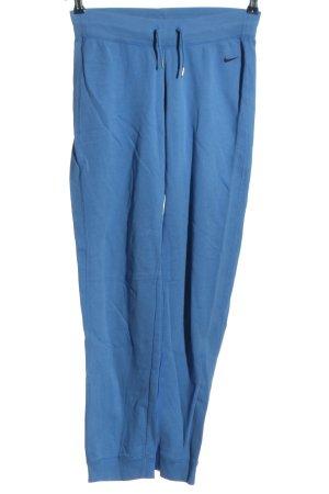 Nike Stoffhose blau Casual-Look