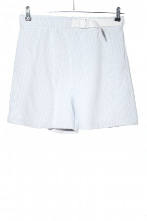 Nike Shorts white-black allover print casual look