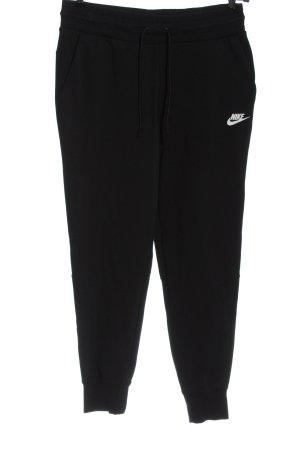 Nike Sweathose schwarz sportlicher Stil