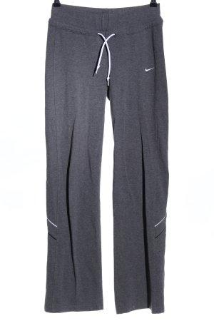 Nike Sweat Pants light grey flecked athletic style