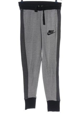 Nike Pantalone fitness nero-grigio chiaro stile casual